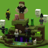 MineMine Hub // Highly Detailed $20 LEAK // MINECRAFT THEMED // Giant Characters // WOW! [SEE PICS]