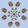 Minecraft Bedwars Map Strolon | (8 and 4 island) [1.8+]