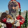 Minecraft Christmas Hub /Spawn Map / Ice Spawn ! // SUPER DETAILED CHRISTMAS LOBBY // SEE PICS!!!!