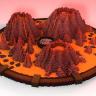 Hell XP // VOLCANIC // EXPLORATIVE // WASTELAND // SATAN // Amazing minecraft EXP zone!!! HQ //