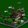 OldBase Spawn // MILITARY // JETS // NAVY // HELICOPTER // HQ AND CUSTOM // SEE PICTURES // GREEN
