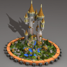 Gensha Towers // CASTLE // HUB/LOBBY/SPAWN // HQ AND CUSTOM // MEDIEVAL THEMED // WOW!!!