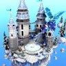 Frostbite - Skyblock Spawn // HUB // LOBBY // SKYWARS // PVP // WINTER // SNOW // CHRISTMAS // EPIC!