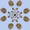 Minecraft Bedwars Map Strolon | (8 and 4 island) [1.8+] 1.8