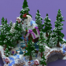 Christmas Candy Lobby // WINTER // SANTA // HQ // HUB // SPAWN // HOLIDAY // SNOW // ELVES // EPIC!!