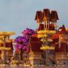 [Lobby] Fantasy Minecraft Island Lobby // AQUA // WATER // CASTLE // EPIC // HQ // CUSTOM // HUB //