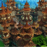 Bright Orange // COLORFUL SPAWN // HUB // LOBBY // FACTIONS // PVP // EPIC AND HQ // AMAZING!!!