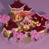 Japanese style lobby floating island // JAPAN // YEN // ANIME // HQ AND CUSTOM // HUB // SPAWN