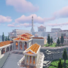 Ancient Greek Spawn // ROMAN // HQ AND CUSTOM // LOBBY // HUB // WOW // OLD // HISTORIC