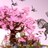BLOSSOM PVP SKYBLOCK SPAWN - CHERRY BLOSSOM TREE / SPRING / DRAGONS / FANTASY / JAPAN//