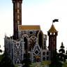 Castle - Survival Spawn // Detailed interior to explore! // CUSTOM // HUB // MEDIEVAL ///