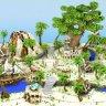 Beach themed HCF Spawn // TROPICAL ISLAND // PIRATE SHIP // HUB // MAP // PROFESSIONAL HQ